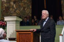 Hospitalizan al expresidente Jimmy Carter por infección del tracto urinario