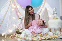 Katy Ferrer se lució con la Feria Estilo Mamá Navideña 2019