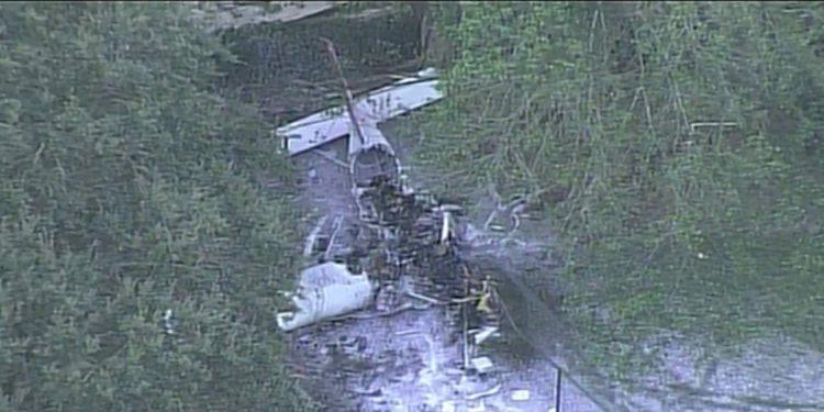 Accidente aéreo en Broward dejó 4 heridos