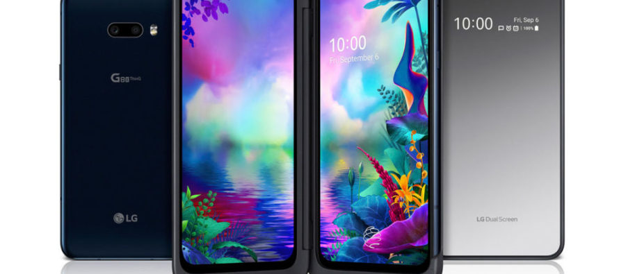 LG presenta el nuevo LG G8X ThinQ con pantalla DualScreen