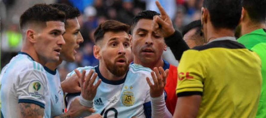 Conmebol confirmó la sanción a Lionel Messi tras el incidente en Copa América 2019