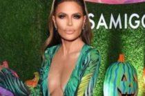 Lisa Rinna se disfrazó de Jennifer López con el icónico vestido Versace (Fotos)