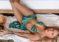 Modelo brasileña mostró en Miami Beach su sexy marca de bikinis (+Fotos)