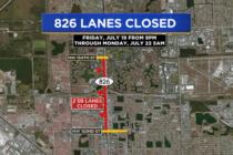 ¡Atención! Esta noche cerrarán dos carriles de Palmetto Expressway conozca las alternativas