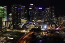 Residentes de Miami llevaron las fiestas a sus balcones, a pesar del toque de queda (VIDEOS)