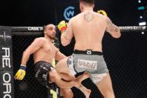 ¡Espeluznante! Luchador de MMA se fracturó la pierna al dar una patada a su rival (Video)