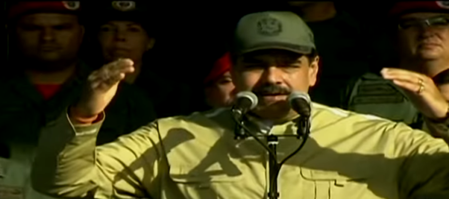 Maduro informó que su régimen superó los 3.000.000 de milicianos