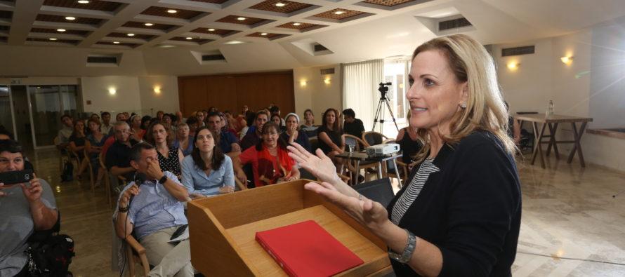 JNF: Marlee Matlín, «Quiero un Israel para todos»