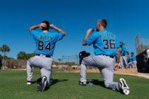 Marlins invitaron a siete peloteros latinos al Spring Training