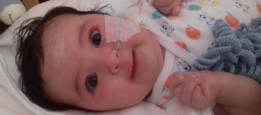 Conozca el caso de Matilde, una bebé que salvó su vida gracias a la solidaridad de su país
