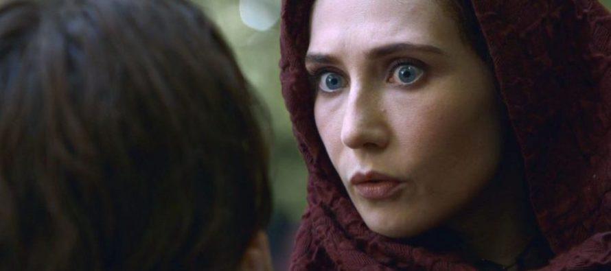 La actriz que hizo de Melisandre en 'Juego de Tronos' desea que el personaje salga en el spin-off