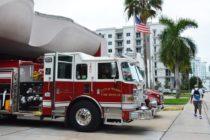 Fuerza especial del Cuerpo de Bomberos de Miami fue activada por Dorian