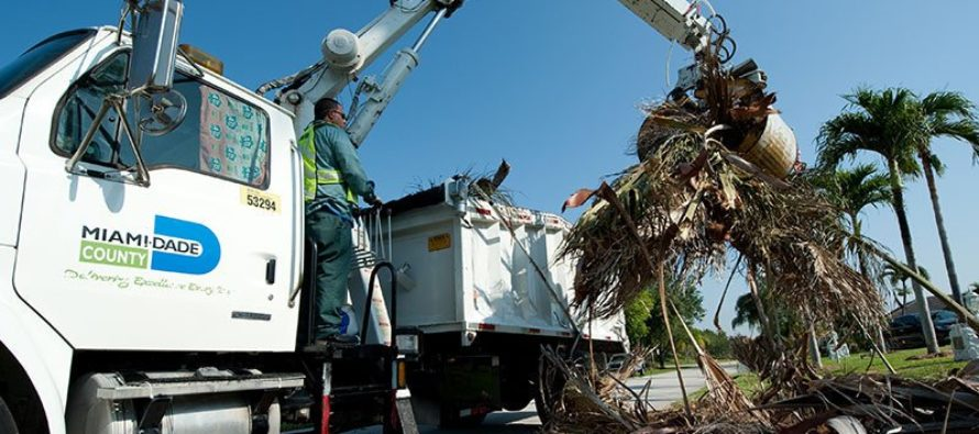 Comisionado Diaz continúa cruzada contra vertido ilegal en Miami Dade