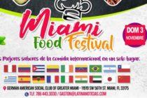 No puede dejar de participar en el Miami Food Festival en el mes de noviembre