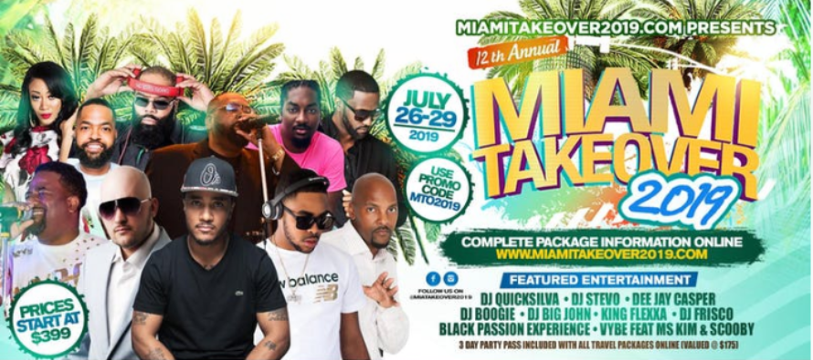 Todo listo para el Miami Take Over