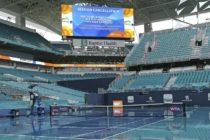 Cancelaron la segunda jornada clasificatoria del Miami Open por lluvia