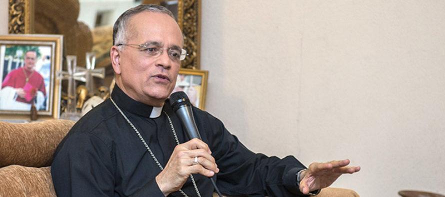 Monseñor Silvio Báez se pronuncia sobre diálogo en Nicaragua