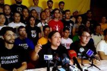 Movimiento Estudiantil ratifica su respaldo a la lucha por conquistar la democracia y la libertad en Venezuela