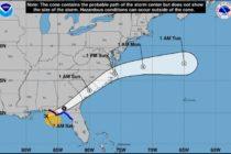 Tormenta tropical Néstor toca tierra en Florida