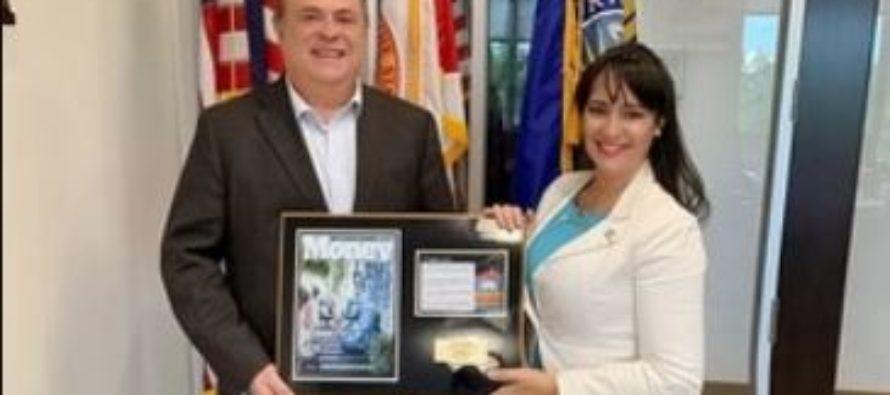 Nancy Clara fue designada como encargada de negocios de Doral en Argentina