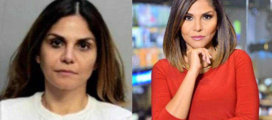 Detenida presentadora de noticias por violencia doméstica en Doral
