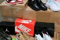 Detuvieron a contrabandistas con cargamento de zapatos Nike valorado en $2 millones