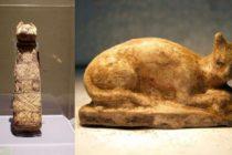 Científicos descubren inesperado contenido en antigua momia de gato egipcia