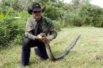 «Alligator Ron» el Cocodrilo Dundee de los pantanos del sur de Florida