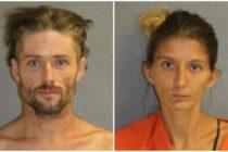 Padres fueron arrestados por drogarse en el auto con su hijo de dos años en Florida