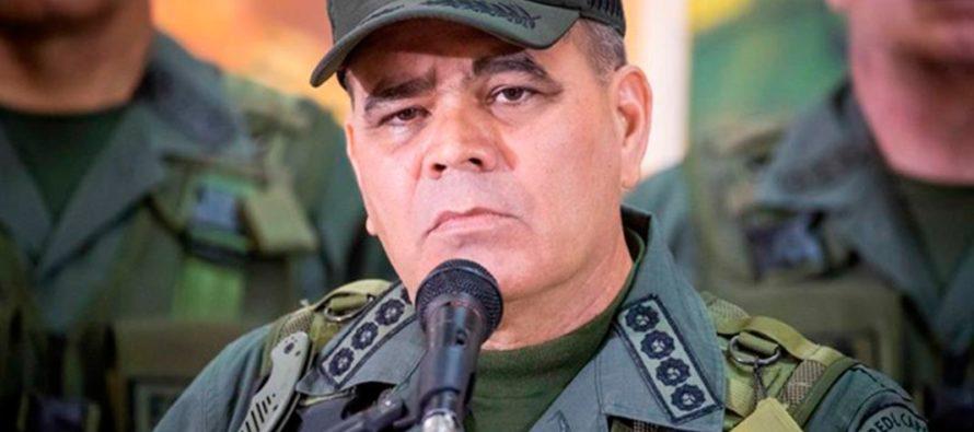 Tras activación del TIAR, Padrino López dijo que Fuerza Armada defenderá a su país «hasta perder la vida»