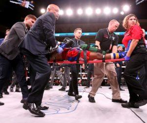 Tras pasar 4 días en coma murió el boxeador Patrick Day por lesiones cerebrales (Video)
