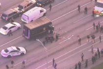 Persecución al estilo de Hollywood: Cuatro muertos y un herido dejó atraco a joyería en Miami (+Videos)