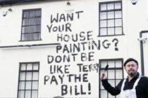 Pintor se vengó increíblemente de cliente que no le pagó su trabajo (+Fotos)