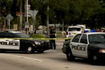 Persecución policial en parada de tráfico de Broward termina en tiroteo