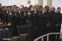 Policía Escolar de Miami-Dade dió la bienvenida a más de 80 nuevos reclutas