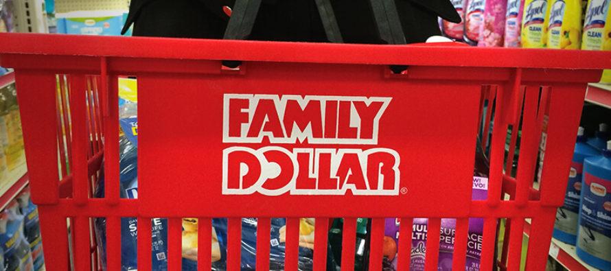 Alrededor de 400 tiendas cerrará Family Dollar  este año