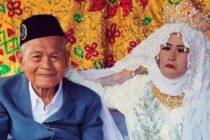 ¡Insólito! Mujer de 27 años es obligada a casarse con abuelo de 103