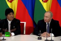 Señalan al presidente de Rusia Vladimir Putin de influir en las elecciones de Bolivia
