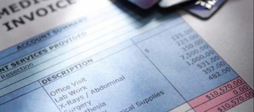 Más del 50 por ciento de las facturas médicas salen erróneas