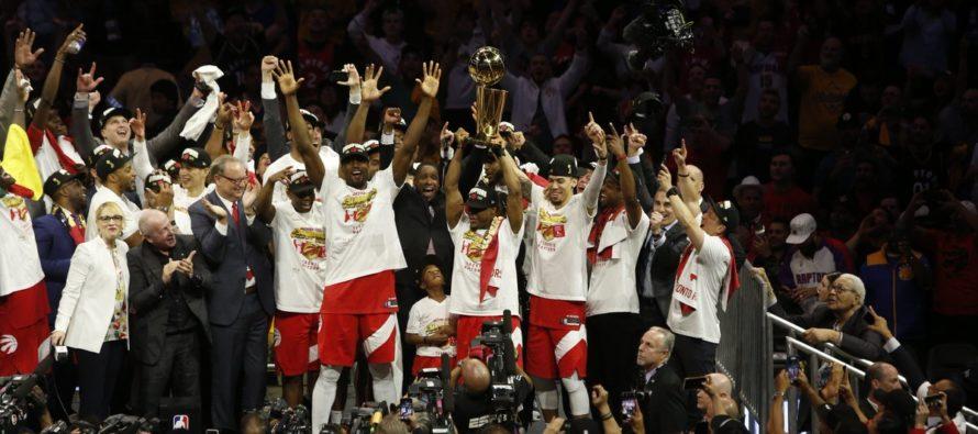 Raptors se convierten en primer equipo de Canadá que gana el campeonato NBA