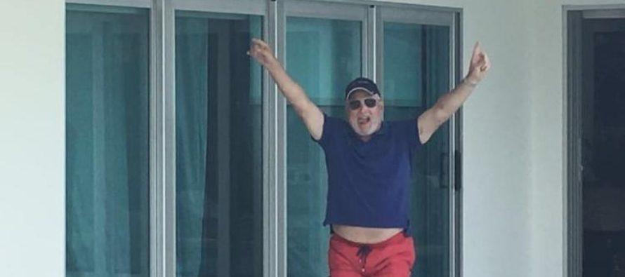 Expresidente Ricardo Martinelli presumió su 'libertad' en Miami
