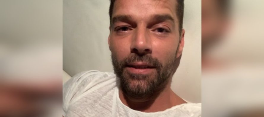 Seguidores de Ricky Martin preocupados por enfermedad que adolece