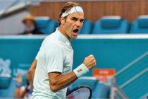 Tenis: Federer pasa a cuartos de final en Miami Open