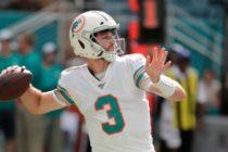 Josh Rosen será el quarterback titular de Dolphins el próximo partido