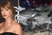 ¡De película! ladrón se roba un auto y terminó chocando en casa de Taylor Swift (Fotos + Respuesta de Taylor)