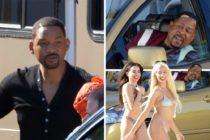 ¡Miami Beach de película! Will Smith paralizó todo con el rodaje de Bad Boys for Life