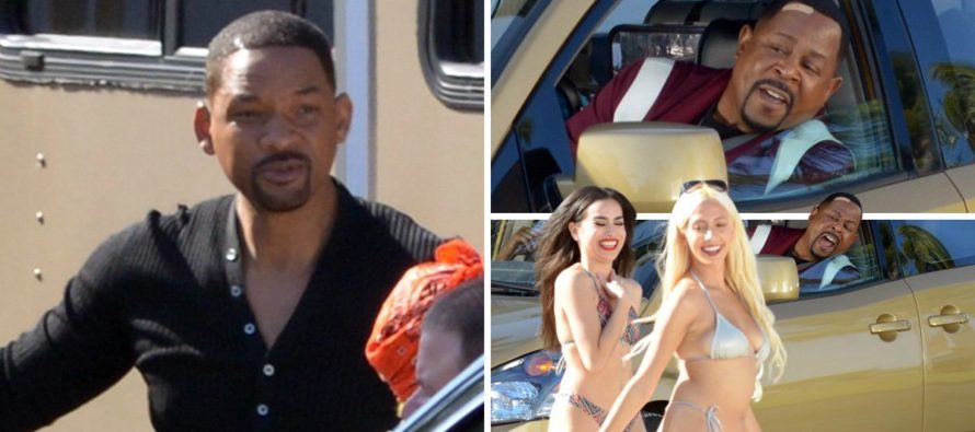 ¡Miami Beach de película! Will Smith paralizó todo con el rodaje de Bad Boys for Life