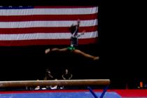 Asombrosa e inédita peripecia de la gimnasta Simon Biles se hizo viral en las redes sociales
