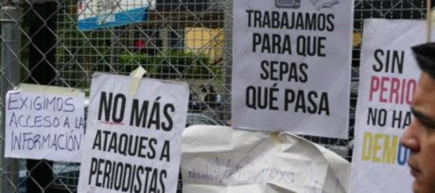 SIP denuncia en informe Plan oficial en Venezuela busca destruir a medios y periodistas