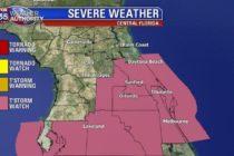 Florida Central permanece en vigilia por alerta de tormentas en la zona